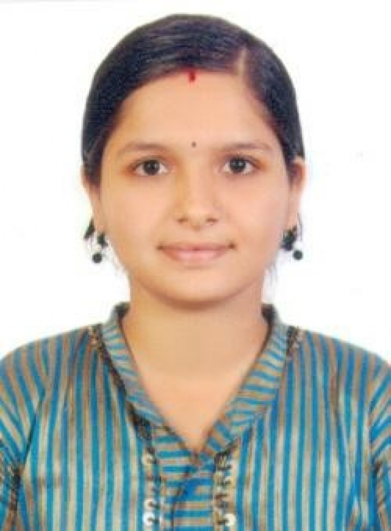 Ms. Shwetha, II Rank holder in BSc(PCM) from Mangalore University