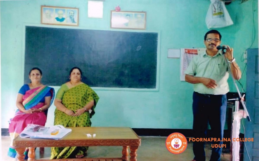 Outreach programme held by Sumana  Rajendra and Vasantha R. ON 6TH October