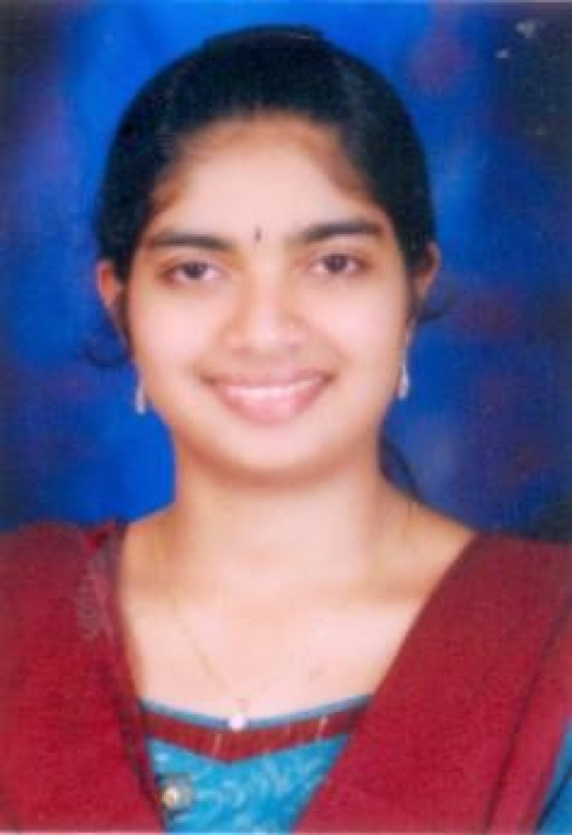 Ms. C Deepika Bhat,IV Rank holder in BSc(PCM) from Mangalore University