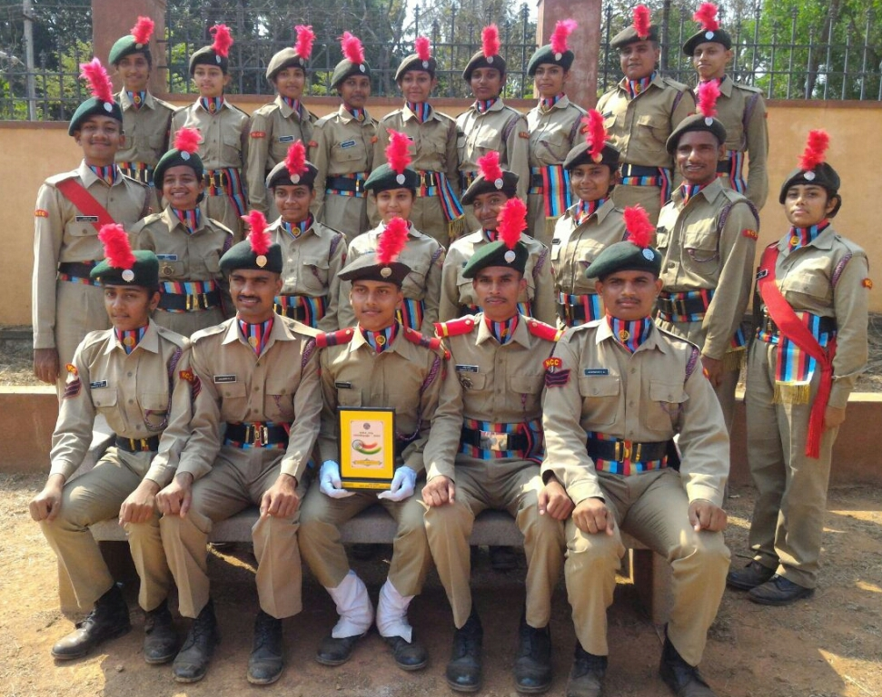 1st prize on march past on Republic Day 2018