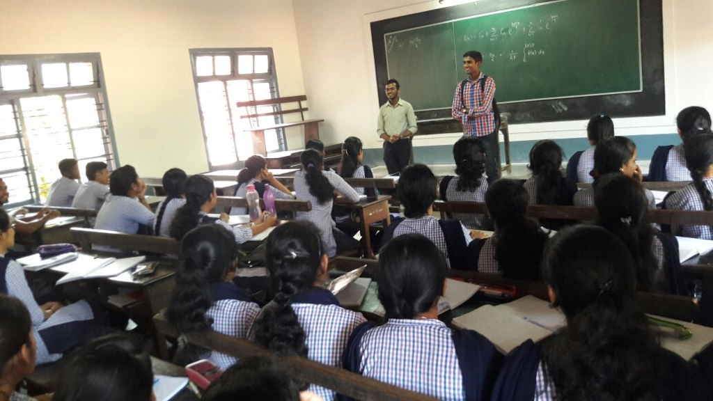 Interaction program with Alumini Students