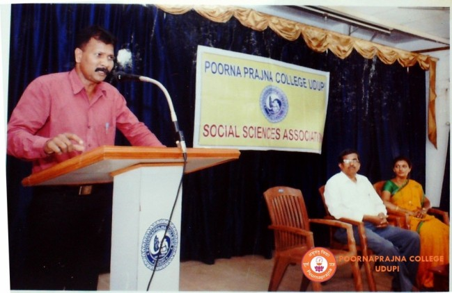 Special talk on Human Rights by Sri Dayananda on 12-12-2014