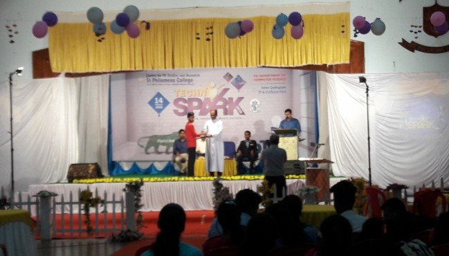 Second prize in IT Model in Annual IT Fest Techno-Spark-2018