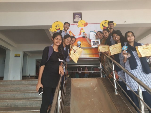 PPC  Students bagged prizes at Alvas College Umang 2018