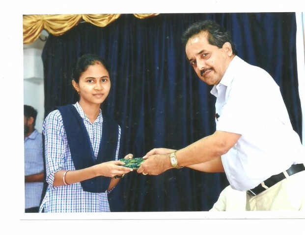 Prize distribution to highest marks