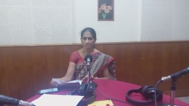 Radio Talk by Dr. Vijayalakshmi C. Bhat
