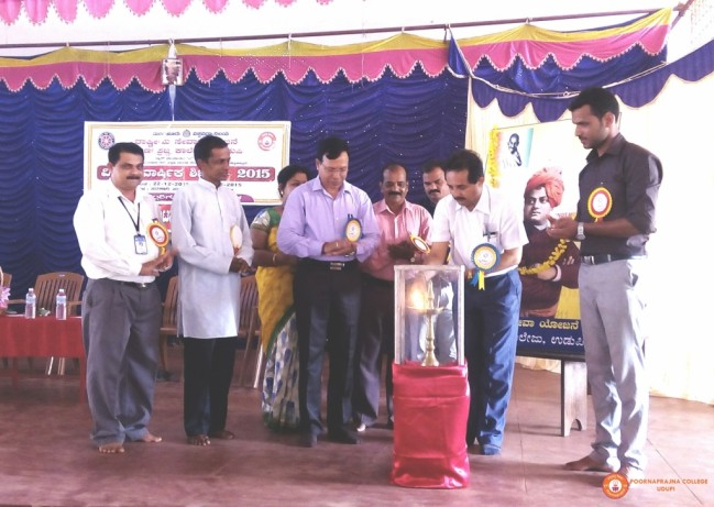 inauguration of NSS special annual  camp 2016 at govt PU college hebri