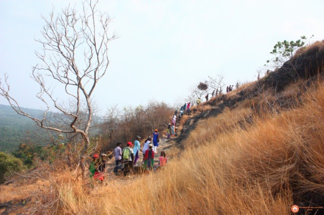 NSS trekking to historical place