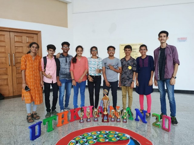 Our Chemistry students won Overall Championship Prize in National Level  Chemistry fest