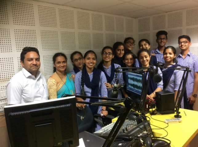 Hindi Program at  Manipal Radio Station